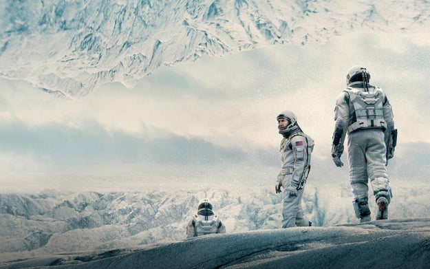 The method of space travel in Interstellar was based on physicist Kip Thorne's works.
