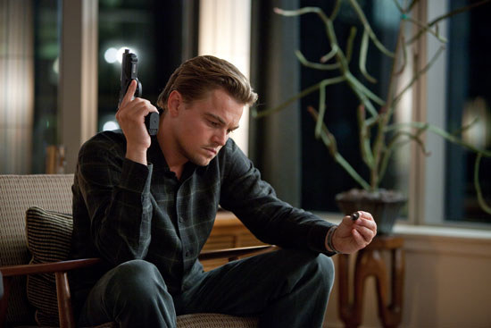 Leonardo DiCaprio was Nolan's only choice for the role of Cobb in Inception.