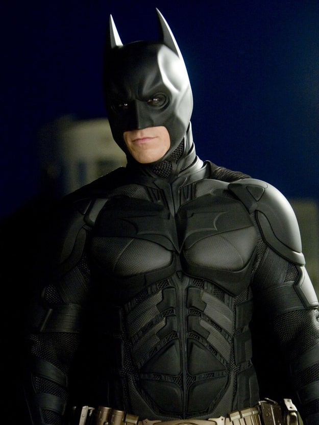 Christian Bale's active dislike of his uncomfortable Batman outfit during the audition inspired his signature Batman voice.