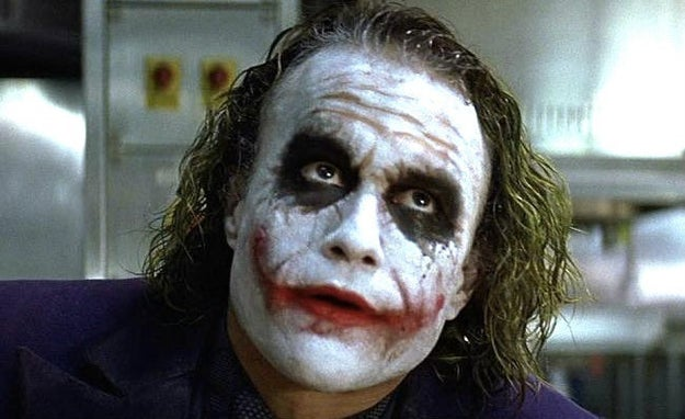 Heath Ledger created the original look for the Joker in The Dark Knight. Nolan was so impressed with the interpretation that he made his team re-create it themselves.