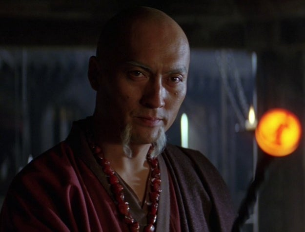 The language used by Ken Watanabe in Batman Begins is supposedly some gibberish he made up for the role, though the subtitles list it as Urdu.