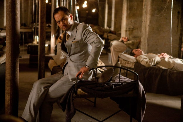 The role of Saito in Inception was written exclusively for Watanabe because Nolan felt that he did not have enough screen time in Batman Begins.
