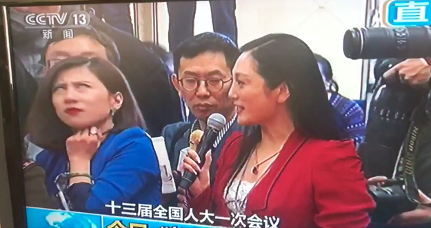 Most questions asked at the session, particularly those raised by state media reporters, are scripted in advance to incorporate heavyhanded praise of government policies. The whole thing is so dull that delegates have sometimes been caught napping on camera. So Liang's spontaneous eyeroll really struck a nerve.