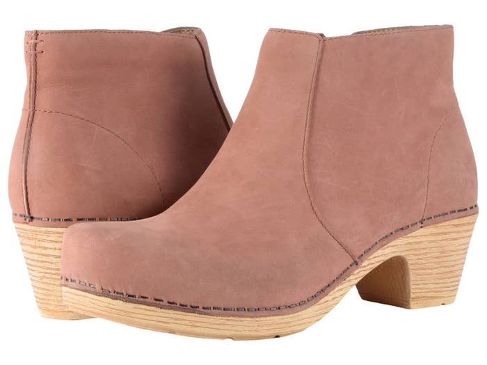 a336e59d72bb Promising review   quot These clog-style booties are wardrobe staples! I  bought