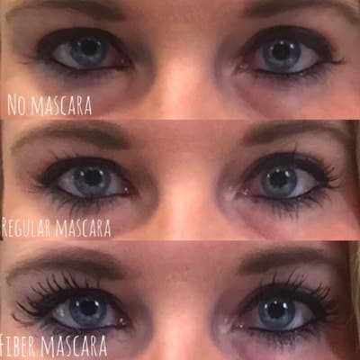 37e76de7ae5 Simply Naked Beauty 3D Fiber Lash Mascara includes two tubes of mascara —  one fiber and one gel — that you layer on top of each other to help it look  like ...