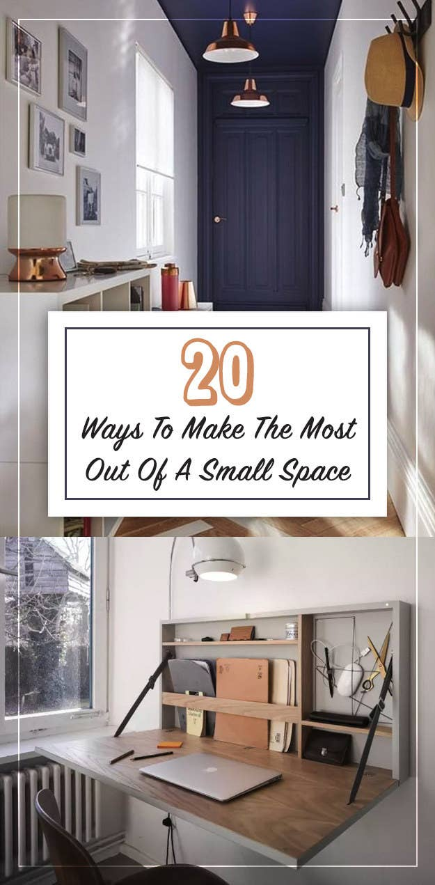 26 Brilliant Tips For Furnishing A Small Living Space