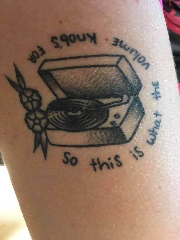 eae022ea7 33 Music-Inspired Tattoos Every Diehard Fan Will Love
