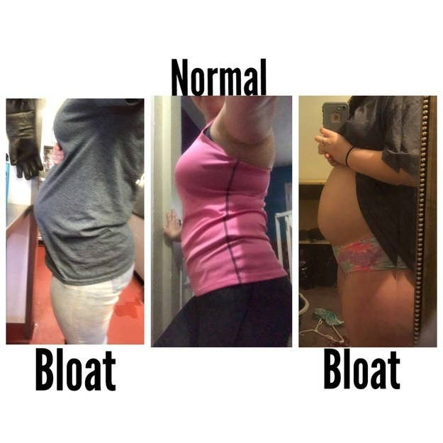 I'm known throughout my high school for my bloating because one day people  think