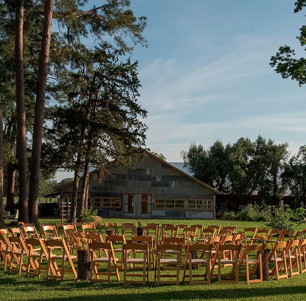 Consider having your ceremony seating in a circle so you can actually be surrounded by the people who love you.