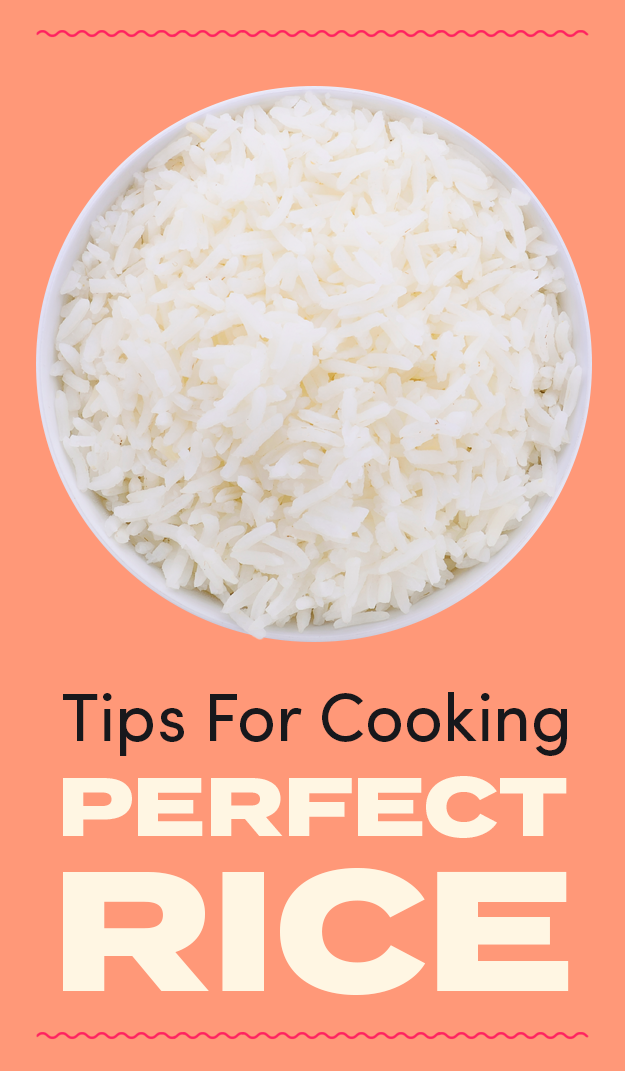The header image for how to make perfect rice
