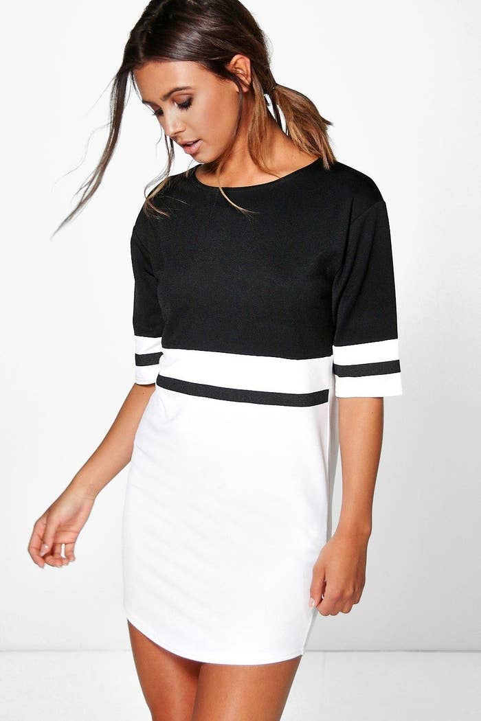 Get it from Boohoo for $15 (available in petite sizes 0–10).