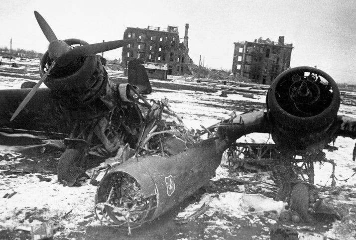 These fearless Soviet teens were not here for it when they saw Nazi tanks rolling into Stalingrad in 1942. Some of them had no combat training, and yet, they managed to wipe out 83 tanks and shoot down 14 aircrafts, among other things. In doing so, they held off oncoming troops for a few days. The best part? The Germans didn't realize they'd been fighting young women until they sadly overcame the regiment during the battle.
