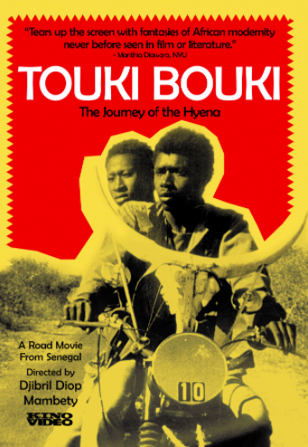 Considered a classic in African cinema, the Wolof language film follows two lovers on a road trip — Mory, a charismatic herder who rides a motorbike mounted with cow horns, and Anta, an art student, who meet in Senegal's capital of Dakar. Harboring dream of riches and glory in Paris, they hatch various money-making schemes so they can travel abroad.