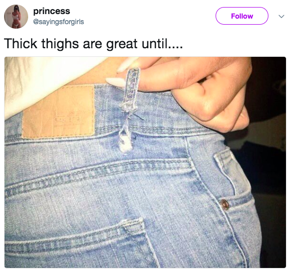 Thighs big girls with Why Do