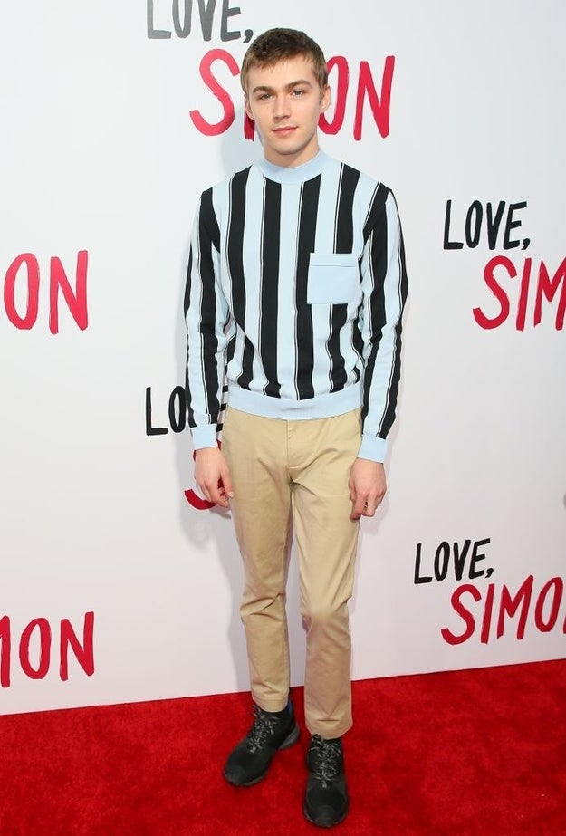Mile Heizer plays the second Blue candidate, Cal, who does musical theatre with Simon.