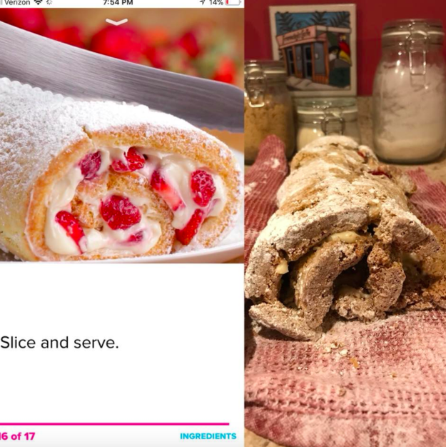This jelly roll that tried — it really tried: