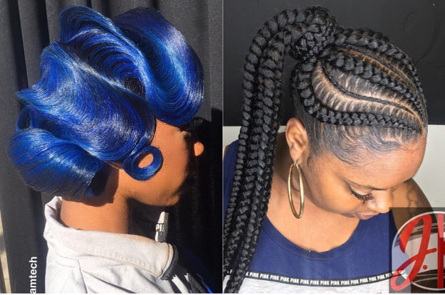 Incredible 17 Hairstyles Thatll Make Black Girls Say Yup We Did That Schematic Wiring Diagrams Amerangerunnerswayorg