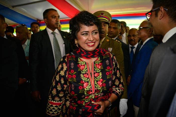 President Ameenah Gurib-Fakim of Mauritius.