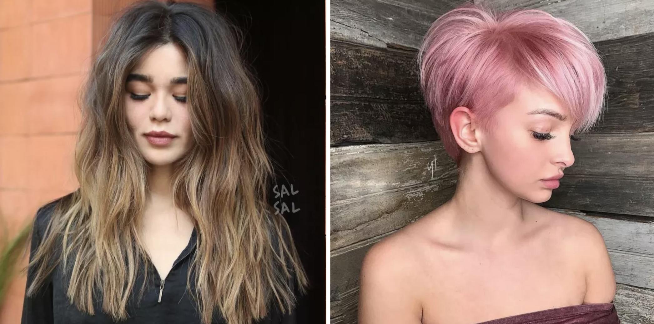 Imagenes de corte de pelo mujer 2018