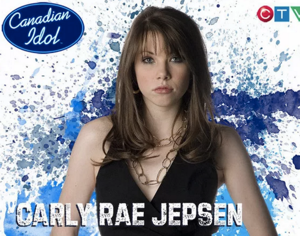 Carly Rae Jepsen came in third place on Canadian Idol in 2007.