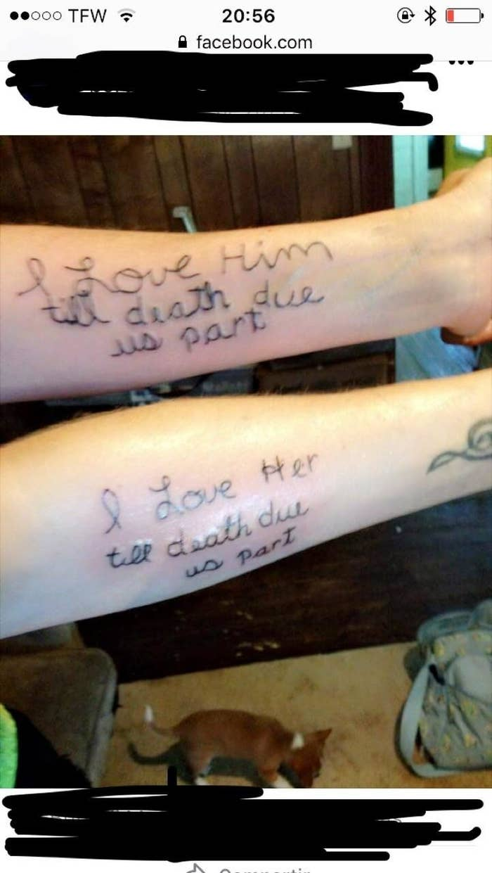 adc0b65b1565d 21 Hilarious Tattoo Fails That Are, Well...They're A Fuckin' Journey