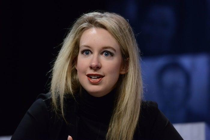 Elizabeth Holmes in 2015
