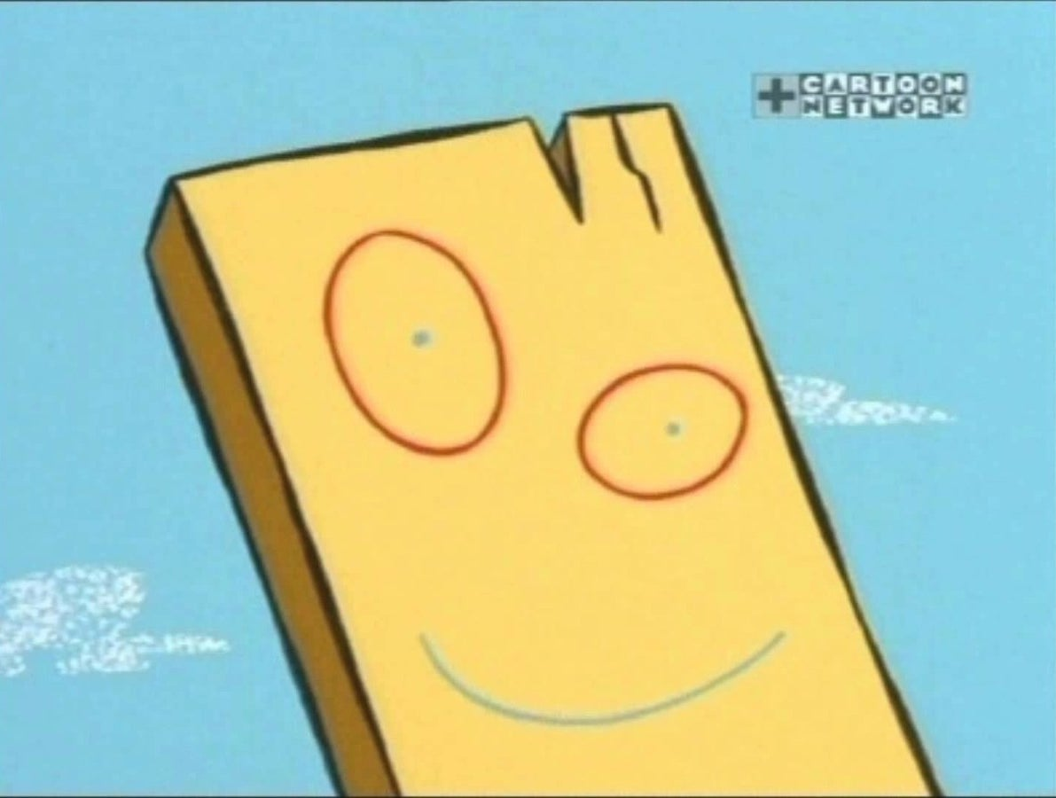 And lastly, Plank from Ed, Edd & Eddy