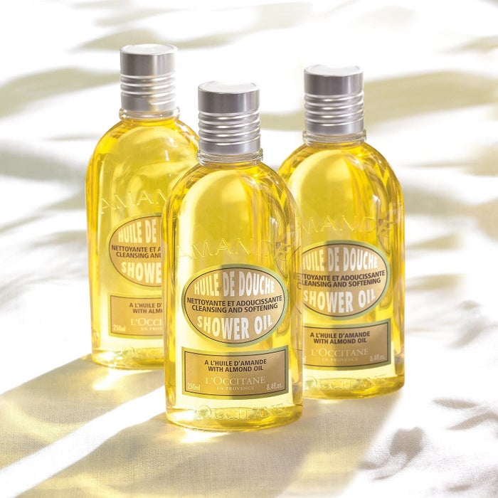 """Promising review: """"The smell is amazing! I can't explain it, but it's subtle and fabulous! Even my boyfriend loves the smell. The oil turns creamy and lathers the second it touches your skin, so no need to worry about slipping on an oily shower floor. A little goes a long way and it makes me feel so clean and refreshed! I can't say enough good things about this shower oil!"""" —stephelisePrice: $9.50"""