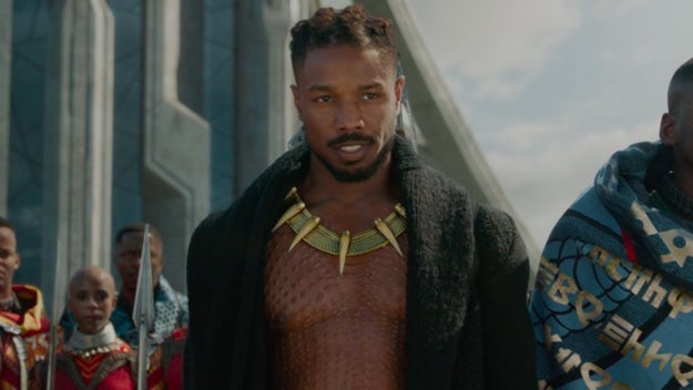 Erik Killmonger from Black Panther
