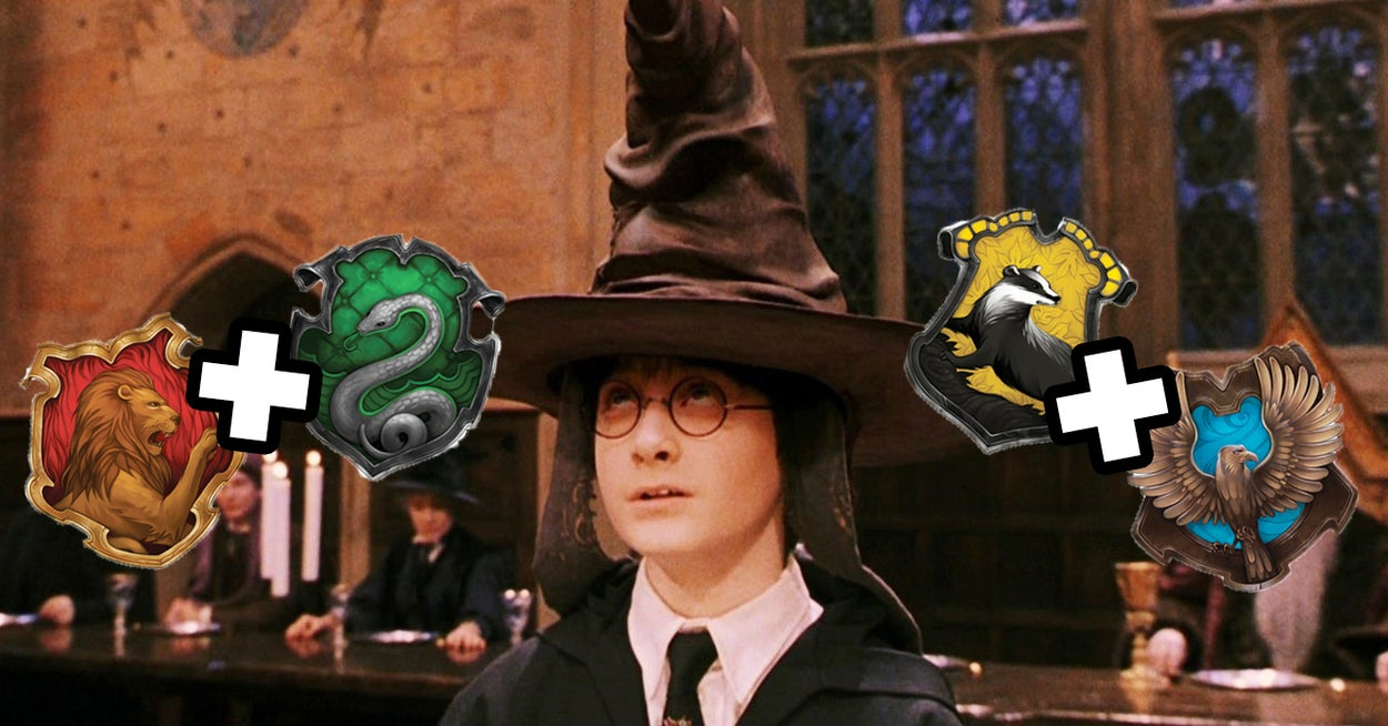 Everyone Is A Combination Of Two Hogwarts Houses – Here's Yours
