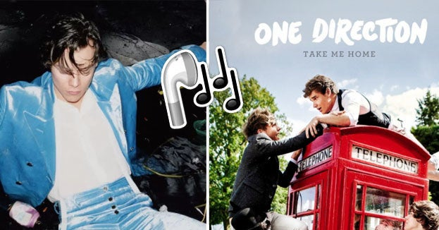 Tell Us Your Favorite One Direction Songs And We'll Give You A Harry Styles Song To Listen To