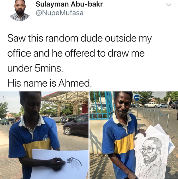 All the people drawing their way through life: