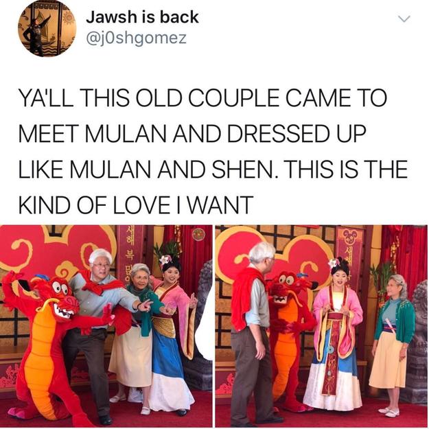 Remember a Mulan kinda love: