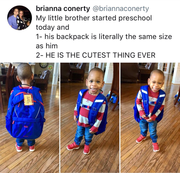 And all the gigantic backpacks out there: