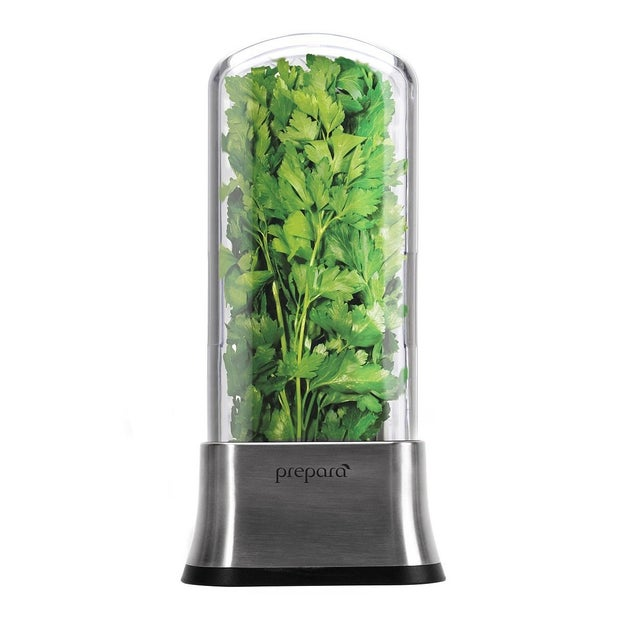 Or, if you use a lot of fresh herbs, invest in an herb saver.