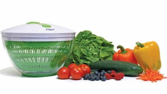Prep your greens with a salad spinner, which cuts out a lot of moisture and prevents leaves from wilting.