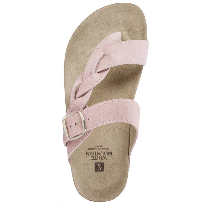 27f01d418e71 Soft White Mountain suede sandals that ll be the only shoes you need to  bring on a weekend getaway to your favorite small town.
