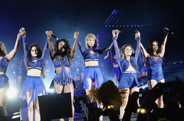 In particular, there's always been a rumour on the internet that Taylor was one of the reasons Camila left girlband Fifth Harmony, apparently convincing her to go solo.