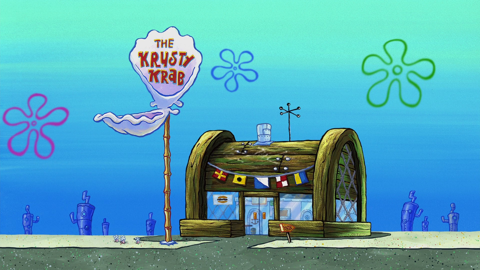Nickledeons show spongebob squarepants has brought us many memes and this time its the chum bucket vs the krusty krab people have been using the krusty