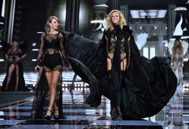 OK, so you know how Taylor Swift and Karlie Kloss were besties for the longest time: