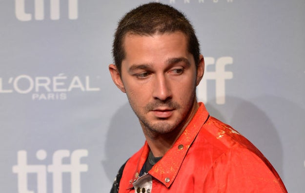 Shia LaBeouf Is Starring In A Movie About Himself As Someone Else