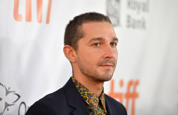 Instead, LaBeouf will be playing his own father.