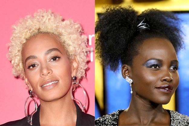 15 celebs who prove natural hair doesn t need twist outs to look