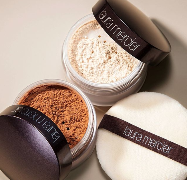 """Promising review: """"I've tried many loose powders and when I bought the Laura Mercier translucent setting powder at Sephora the cashier told me it was an excellent product. I was a little skeptical at first because I had tried a lot of loose powders and most were too heavy or too grainy. When I applied it the first time I was pleasantly surprised. It goes on light and stays on all day long making my face look fresh. It really is an excellent setting powder. You don't need to use a lot of it too. It keeps my eyeliner from smudging. Great product!"""" marybrownPrice: $23+ (available in two sizes and shades)"""