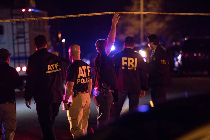 Police maintain a cordon near the site of an incident reported as an explosion in southwest Austin, Texas