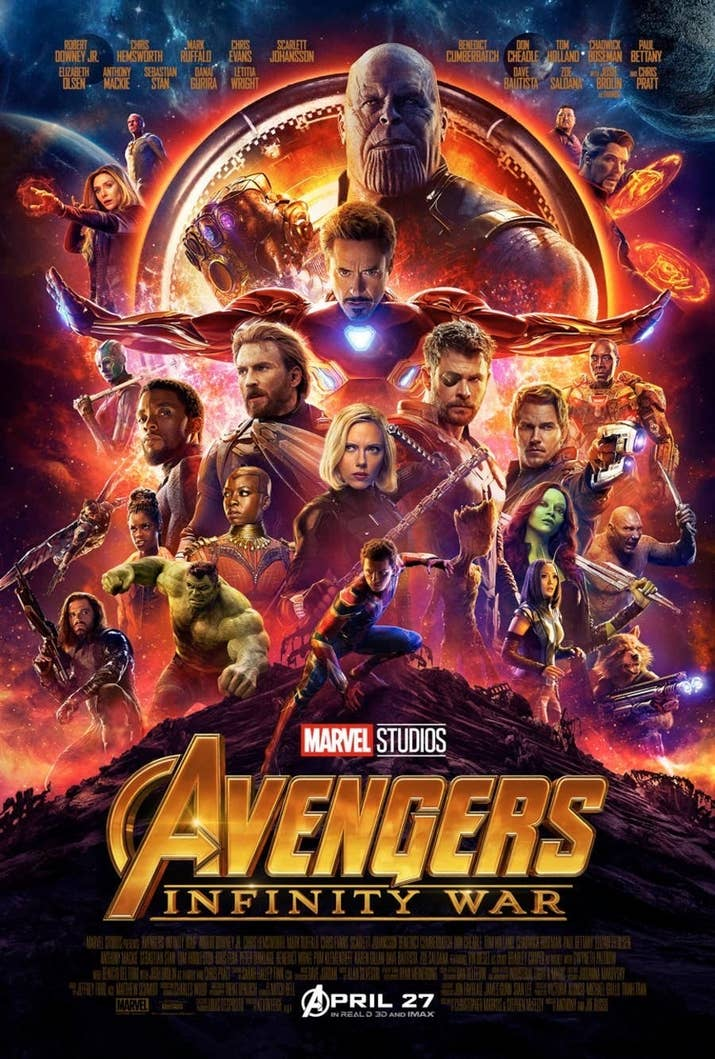 Marvel Released A New Poster For The Movie And Because This Is 2018 We All Live On Internet People Immediately Turned It Into Meme