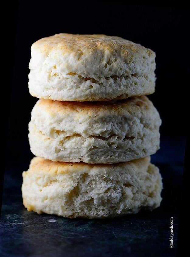 Two-Ingredient Cream Biscuits