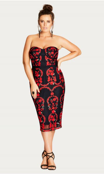 ba4cfc27a7 City Chic is a treasure trove of stunning plus-size dresses.