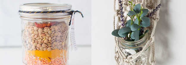 16 Clever Things To Do With All Those Empty Jars You Ve Been Hanging Onto