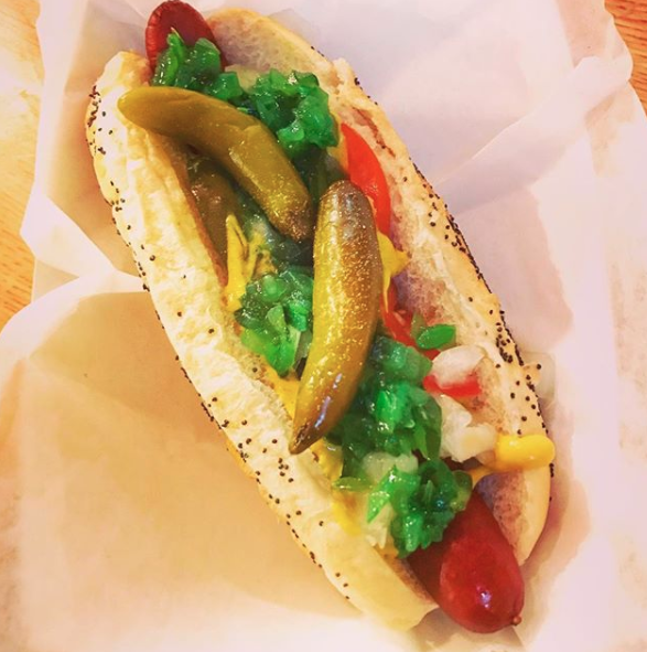 Because you can find a gourmet hot dog basically everywhere.